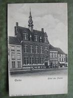 EECLOO - HOTEL DES POSTES ( Ed. Nels - 2 Scans ) - Eeklo