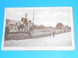 """50 ) Port-bail - N° 3 - Rue De La Gare """" école Des Filles  - Année   - EDIT : Durie - Autres Communes"""