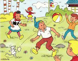 Thematiques Carte Postale Fripounet Sylvain Sylvette Illustrateur  C Dubois - Comics