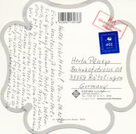 SPANIEN / SPAIN - 1999 , AK über Zürichn Nach Rätzingen Mit Ticket Pre Paye - 1931-Heute: 2. Rep. - ... Juan Carlos I