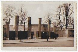Cpa Bon Etat ,  Paris  XVIème ,  Entrée Du Stade Jean Bouin , Carte Rare - Arrondissement: 16
