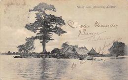 ALTE   AK   MONROVIA / Liberia  - Island Near Monrovia - 1911 Gedruckt / 1913 Gelaufen - Liberia