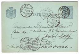 11720 - Pour La SUISSE - Postal Stationery