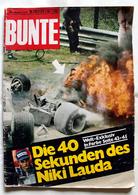 Magazine Allemand Bunte N° 2013CX Aout 1976 Sur L'accident De Niki Lauda - Sport
