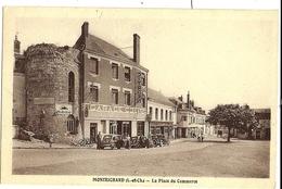 MONTRICHARD La Place Du Commerce Ed. Touchelay (garage Citroën) - Montrichard