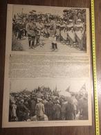 ANNEES 20/30 MARECHAL FAYOLLE DOUGLAS HAIG A BEAUMONT HAMEL TERRE NEUVIEN - Vieux Papiers