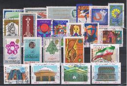 IRAN:  1960/2004  RESTO  DI  COLLEZIONE  -  LOTTICINO  22  VAL. US. -  YV/TELL. 957//2714 - Iran