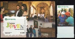 PARAGUAY, 2018, MNH, YOUTH TOURISM, CHURCHES, MUSEUMS, 1v+S/SHEET - Other