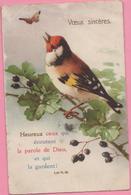 """CPA """"Vœux Sincères"""" 24-05-1934 Allenjoie (25) - Geburtstag"""
