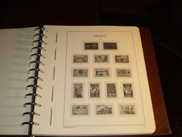 ALBUM FRANCE Préimprimé PERFECT DP  1960 à 1979 LEUCHTTURM - Album & Raccoglitori