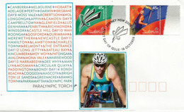 SYDNEY PARALYMPIC GAMES 2000, Beau FDC Australie, Oblitération Spéciale De Sydney - Summer 2000: Sydney - Paralympic