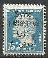 SYRIE  N° 148 Variétée R De Piastres Imcomplé NEUF**  SANS CHARNIERE / MNH - Syria (1919-1945)