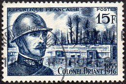 Oblitération Cachet à Date Sur Timbre De France N° 1052 - Colonel Driant - Poste De Commandement Du Bois Des Caures - Gebraucht