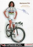 CYCLISME TOUR  DE  FRANCE AUTOGRAPHE MARIANNE VOS - Cyclisme