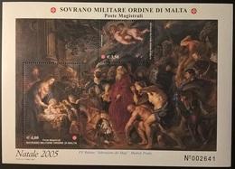 SMOM NATALE 2005 - Sovrano Militare Ordine Di Malta