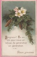 """CPA """"Vœux Sincères"""" 4-01-1937 Allenjoie (25) - Neujahr"""