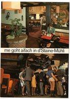 BASEL Restaurant Zur Steinen-Mühle Dancing Bar Mühlirad Steinenbachgässlein Robi + Trudy Eiche - BS Bâle-Ville