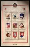 SMOM  1999 STEMMI - Sovrano Militare Ordine Di Malta