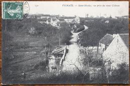 CP VIGNATS Saint-Nicolas, Vue Prise Du Vieux Château - Autres Communes