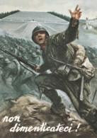 CARTOLINA NON VIAGGIATA ASS NAZIONALE DEL FANTE (LK301 - Regiments