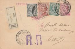 RACCOMANDATA 1923 INTERO CENT.25+15+30+5 TIMBRO PARMA (LK321 - 1900-44 Vittorio Emanuele III