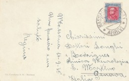 CARTOLINA 1936 CON 20 CENT. ERITREA -DINTORNI MASSAUA-NON PERFETTA (LK469 - 1900-44 Vittorio Emanuele III
