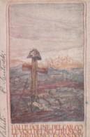 CARTOLINA IN FRANCHIGIA CIRCA 1915 DALLE DOLINE DEL CARSO (LK516 - 1900-44 Victor Emmanuel III