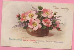 "CPA ""Vœux Sincères"" 27-01-1936 Etupes à Allenjoie (25) - Neujahr"