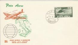 FDC 1962 5 LIRE POSTA AEREA (LK929 - 1961-70: Storia Postale