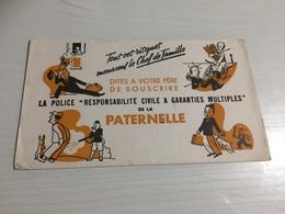 Buvard Ancien LA POLICE RESPONSABILITÉ CIVILE GARANTIE MULTIPLES PARTERNELLE - Banque & Assurance