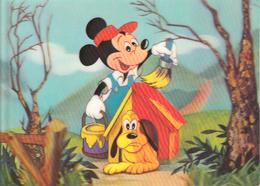 Thematiques Disney Mickey Pluto Carte Stereo Toppan Top Stereo - Disneyworld