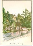 L20J_65 - La Colle-sur-Loup - Dessin D. Occhiminuti (moulin De La Belle Meunière) - France