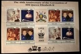 UGANDA 1993 INCORONAZIONE - Uganda (1962-...)
