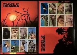 UGANDA ANIMALI SELVAGGI - Uganda (1962-...)