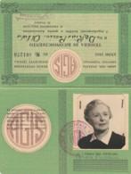 RICONOSCIMENTO AGIS 1955 TESSERA (FX209 - Historische Documenten