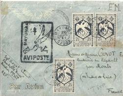 Afrique équatoriale Française Enveloppe Timbrée AVIPOSTE FM - A.E.F. (1936-1958)