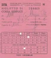 SITA+ L.3 BIGLIETTO AUTOLINEE (FX577 - Europa