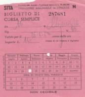 SITA + LIRE 3 BIGLIETTO AUTOLINEE (FX564 - Bus