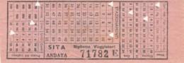 SITA +MDB C.10 BIGLIETTO AUTOLINEE (FX520 - Bus