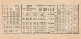 SITA BIGLIETTO AUTOLINEE (FX474 - Autobus