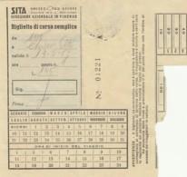 SITA BIGLIETTO AUTOLINEE (FX483 - Autobus