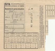 SITA BIGLIETTO AUTOLINEE (FX487 - Autobus