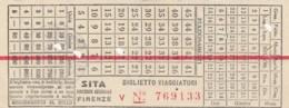 SITA BIGLIETTO AUTOLINEE (FX489 - Bus