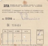 SITA BIGLIETTO AUTOLINEE (FX574 - Bus