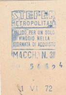 STEFER  BIGLIETTO AUTOBUS (FX438 - Autobus