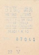 STEFER  BIGLIETTO AUTOBUS (FX442 - Autobus