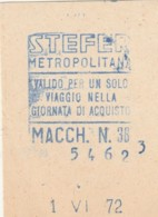 STEFER  BIGLIETTO AUTOBUS (FX443 - Autobus