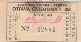 VENEZIA PADOVA BIGLIETTO AUTOLINEE (FX358 - Autobus