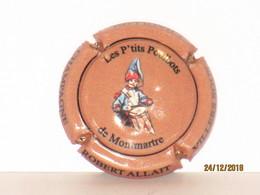Capsules Ou Plaques De Muselet CHAMPAGNE  ROBERT ALLAIT LES  P'TITS  POULBOTS De  MONTMARTRE - Collections