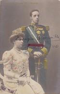 SS.MM. ALFONSO ZILL Y VICTORIA. FRANZEN. VOYAGEE 1910. COLORISE - BLEUP. - Koninklijke Families